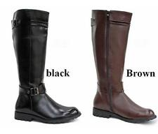 Hot fashion Riding Boots Mens Military  pu Leather casual Knee High Equestrian
