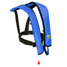 Manuel Life Jacket Vest Inflatable PFD Aid Survival Adult Floatation Lifevest