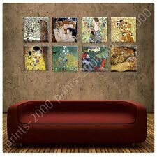 POSTER or STICKER +GIFT Decals Vinyl Tree Life Kiss Woman Gustav Klimt Paints
