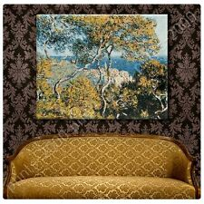 POSTER or STICKER +GIFT Decals Vinyl Bordighera Claude Monet Paintings Poster