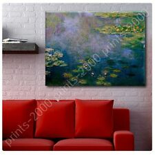 POSTER or STICKER +GIFT Decals Vinyl Water Lilies Claude Monet Paintings