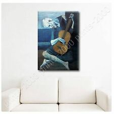 POSTER or STICKER +GIFT Decals Vinyl The Old Guitarist Pablo Picasso Pictures