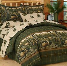 Rocky Mountain Elk Complete Bed in Bag Set- Twin, Full, Queen or King
