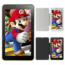 "XGODY 7"" Android 4.4 Tablet PC 4GB 3G Dual SIM Mobile Phone Phablet Bundle Case"