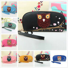 Women Girl Owl Coin Purse Wallet Lady Clutch Zipper Bag Handbag Tote Кошелек