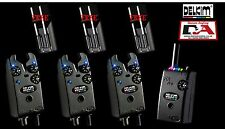 3 x Delkim TXI Plus Alarms + Receiver *Free Delkim D-Safe Snag Ears*