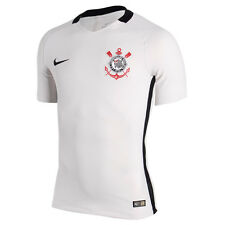Corinthians Home Player Nike Soccer Football Maglia Jersey Men Brazil 2016 NWT