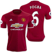 ADIDAS PAUL POGBA MANCHESTER UNITED HOME JERSEY 2016/17