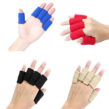 Elastic Finger Support Protector Arthritis Sports Hand Aid Sweatbands 10Pcs