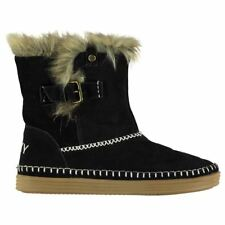 Roxy Ashley Boots Ladies Flat Ankle Womens