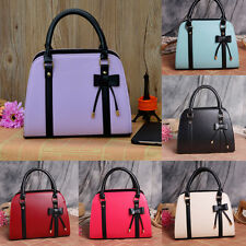 Women Lady Leather Messenger Handbag Shoulder Bag Totes Purse Satchel Hobo Багет