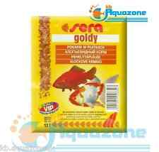 SERA * Goldy 10g*Flake food for smaller goldfish and other coldwater fish*