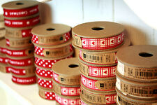 NEW East of India RIBBON SELECTION - 3 METRES - CHOICE 4 DESIGNS - Vintage Reel