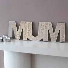 Love Home Mum Dad Mirror Engraved Mantelpiece Fireplace Mothers Fathers Day Gift