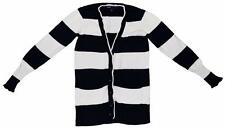 Gap Kids Girls Size XS Extra Small 4 5 Dark Blue White Stripe Cardigan Sweater