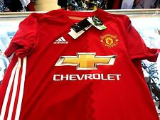 Adidas 2016/17 MANCHESTER UNITED MUFC Home Soccer Jersey Shirt RED AI6720