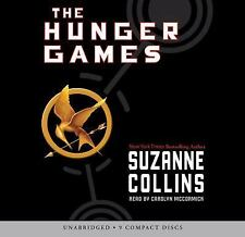 SUZANNE COLLINS THE HUNGER GAMES AUDIO 9 UNABRIDGED CDs free ship...