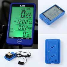 Waterproof Mini Digital LCD Computer Cycle Bicycle Bike MTB Speedometer Odometer