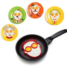 Fried Egg Mould Funny Rabbit Clown Face Pancake Egg Shaper Cooking Tool Rakish
