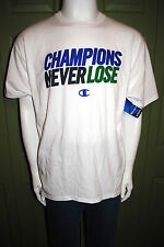 CHAMPION ATHLETIC APPAREL MENS GRAPHIC T-SHIRT COLOR WHITE 4 SIZES NWT SHARP!