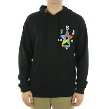 Neff - USA Hooded Pullover Fleece Hoodie/Black