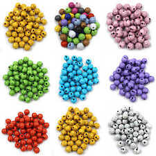 Wholesale Crackle Cracked Loose Spacer Round Craft Beads 6mmx200 8mm/10mmx100