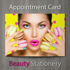 Appointment Card Beauty Salon Nail Massage Hairdressing Therapist A7