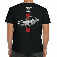 Mens Ford Mustang T Shirt Genuine Classic Vintage American Muscle Car Clothing