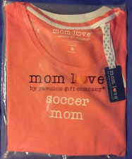 Mom Soccer T-Shirt Adult Shirt Top Women's Medium M Large L XXL 2XL