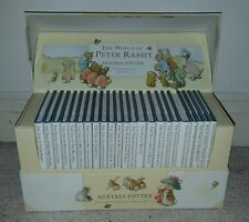 The World of Peter Rabbit Beatrix Potter Complete Collection of Tales 1-23 HB