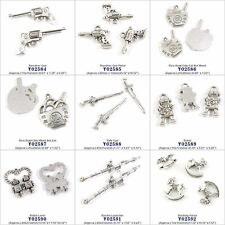 Jewelry Making Charms Revolver Gun Rice Bowl Robot Rocket Launcher Rocking Horse