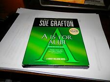 A is for Alibi by Sue Grafton Compact Disc Book (English) Free Shipping