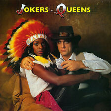 Jon English And Marcia Hines ‎– Jokers And Queens Near Mint Cover EX