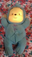 WINNIE THE POOH TEDDY NIGHT LIGHT GLOWING FACE BABY NIGHT TOY MUSICAL GIFT