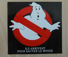 Ghostbusters - SOS Fantomes - French Sticker  - PROMO Columbia 1984