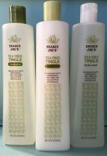 Trader Joe's Tea Tree Tingle Shampoo, Conditioner, Body Wash - Mix & Match!