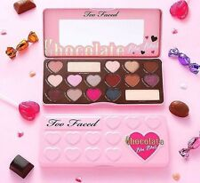 TOO FACED CHOCOLATE BAR 16 COLOR EYE SHADOW COLLECTION PALETTE W/COCOA POWDER