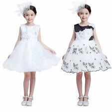 Princess Party Tulle Pageant Birthday Wedding Xmas Easter Party Graceful Dress