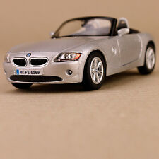 2006 BMW Z4 Convertible Silver 1:32 Scale Diecast Model Car Detailed Collectible