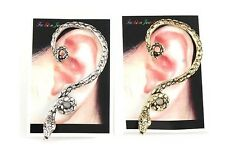 Vintage Wind Temptation Antique Gothic Snake Ear Cuff Ear Stud Earring Hot Sale
