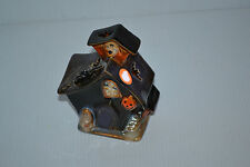Happy Halloween Ghost in Haunted House Tea Cup Candle Holder Boo!!!!!!