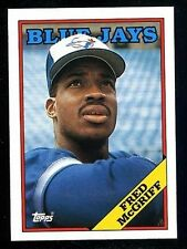 FRED McGRIFF  BLUE JAYS-1988  TOPPS-#463