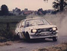 20 different photos printed on glossy paper OPEL ASCONA RALLYE