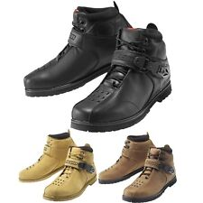 2015 Icon Superduty 4 Cruiser Road Street Riding Motorcycle Boots