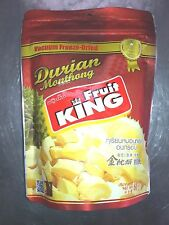 Fruit KING Freeze Dried Durian Monthong Healthy THAI-HALA 60Grms/2.11Oz-3 sizes