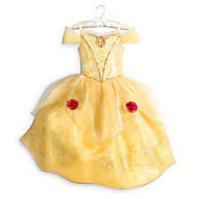 NWT Disney Store Princess Belle Costume Beauty and the Beast SZ 5/6,7/8 Girls