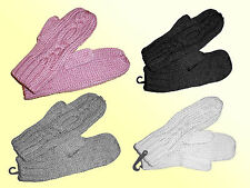 Ladies Norwegian Gloves Mittens mittens thick one Size Choose colour