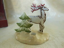 Villeroy & Boch Snow Treats Squirrel Trinket Box or Decolight Deer Candleholder