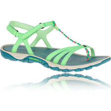 Merrell Enoki Twist Womens Green Outdoors Walking Hiking Sandals Summer Shoes