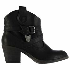 Rocket Dog Satire Heeled Ankle Boots Womens Shoes